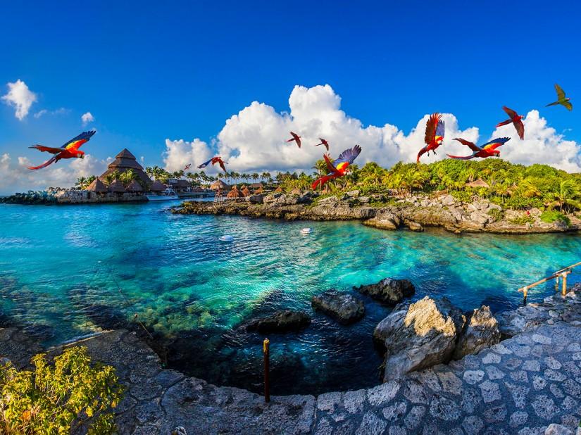 Xcaret, postulado nuevamente como Mejor Parque Temático y Acuático delMundo