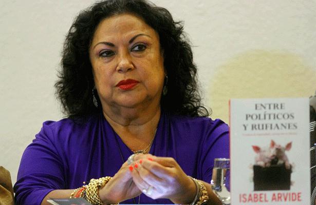Isabel Arvide Limón, lucha por vivir del presupuesto de QuintanaRoo