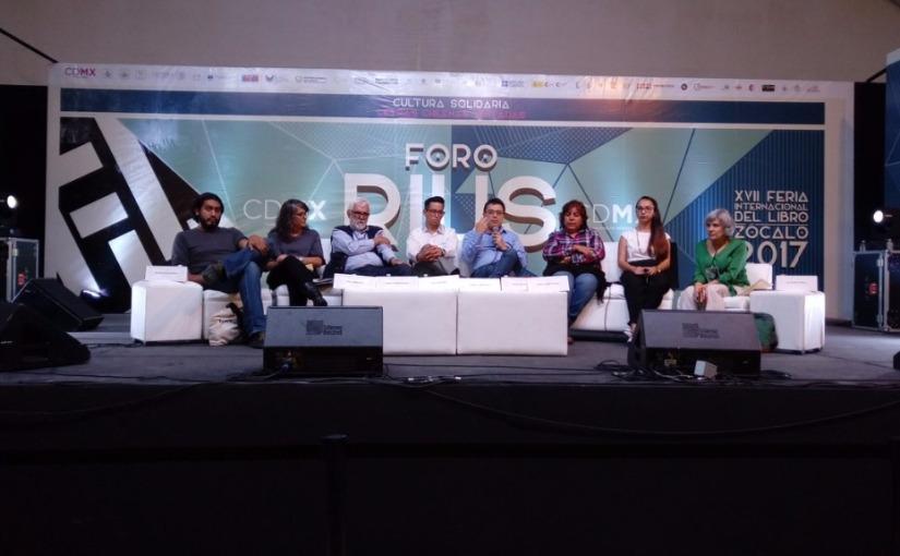 ¿Qué piensan los periodistas? en la FIL Zócalo CDMX2017