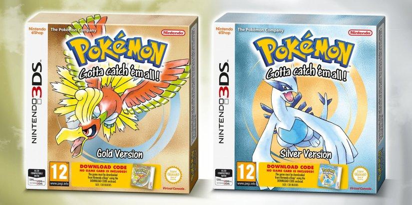 Pokémon oro y plata para comprar en la Nintendo3ds