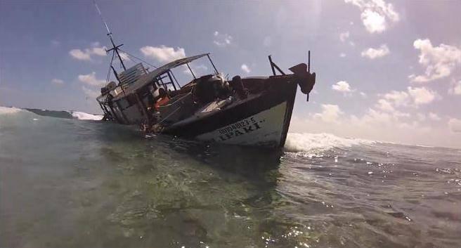 Inicia Profepa procedimiento administrativo por encallamiento en arrecife Alacranes, enYucatán