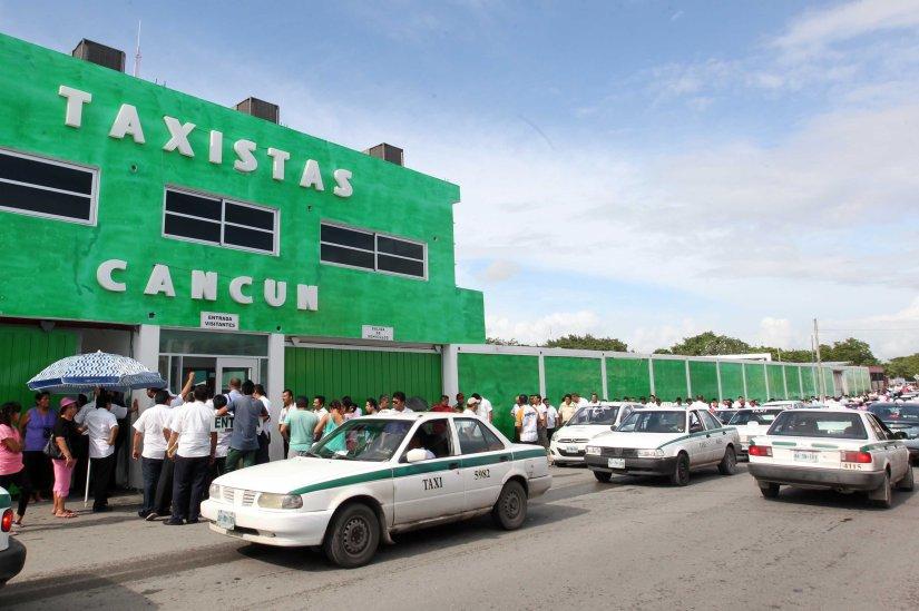Taxistas de Cancún, listos para campañas el 25 deoctubre