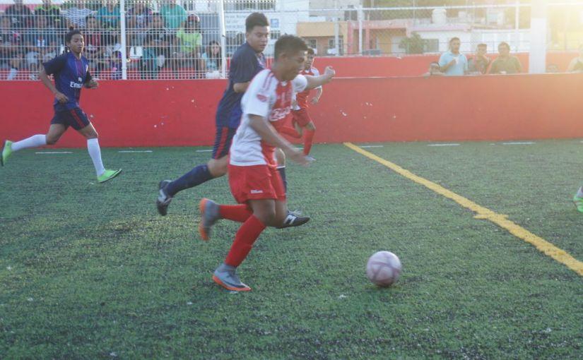 Estrenan Cancha con TorneoFutbolero