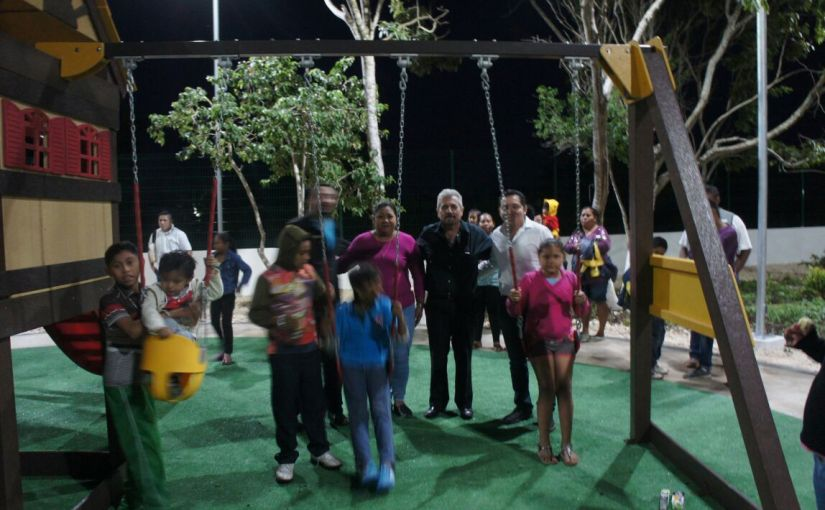 Rancho Viejo ¡Estrena Parque Infantil!, agradecen ciudadanos a JuanCarrillo