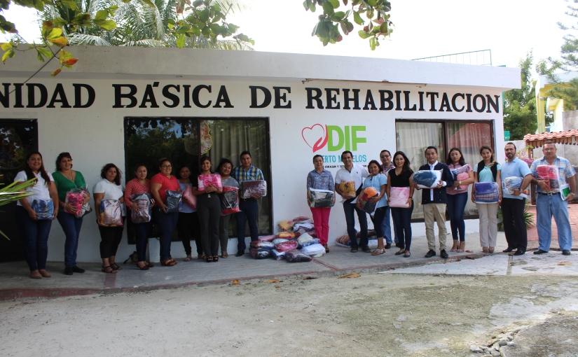 Llega donativo #ConCalorVerde al DIF PuertoMorelos