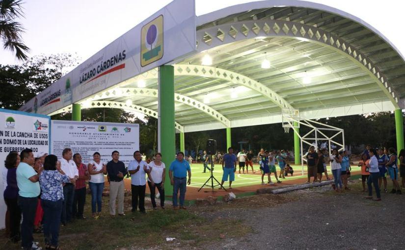 Con obras emblemáticas cierra 2017 municipio LázaroCárdenas