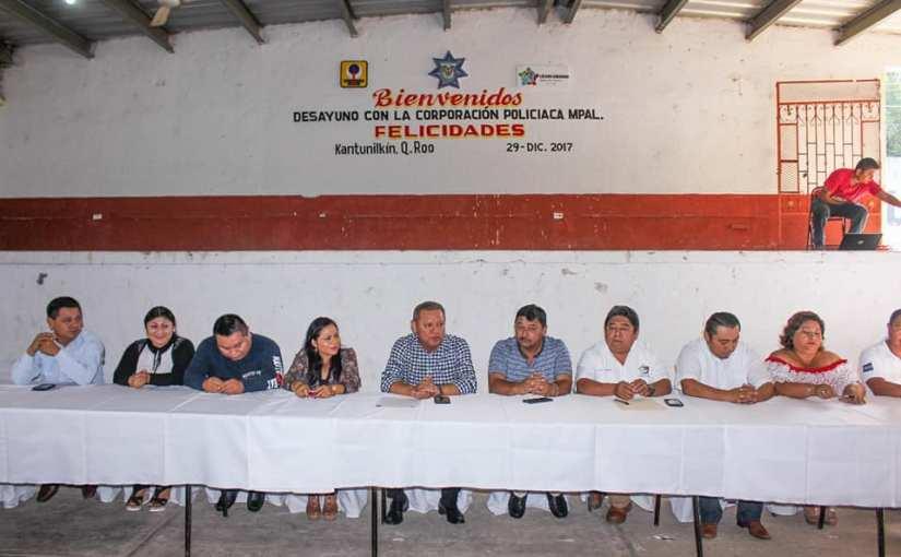 Emilio Jiménez dignifica labor policíaca en LázaroCárdenas