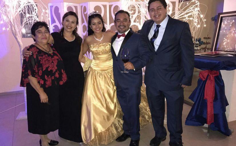 Los 15 años de Frida Casandra Carranza Tejero, la dulceedad