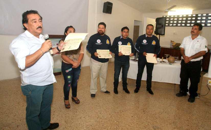 """Impartirá Protección Civil de Puerto Morelos los cursos """"Primeros Auxilios"""" y """"Manejo deExtintores"""""""