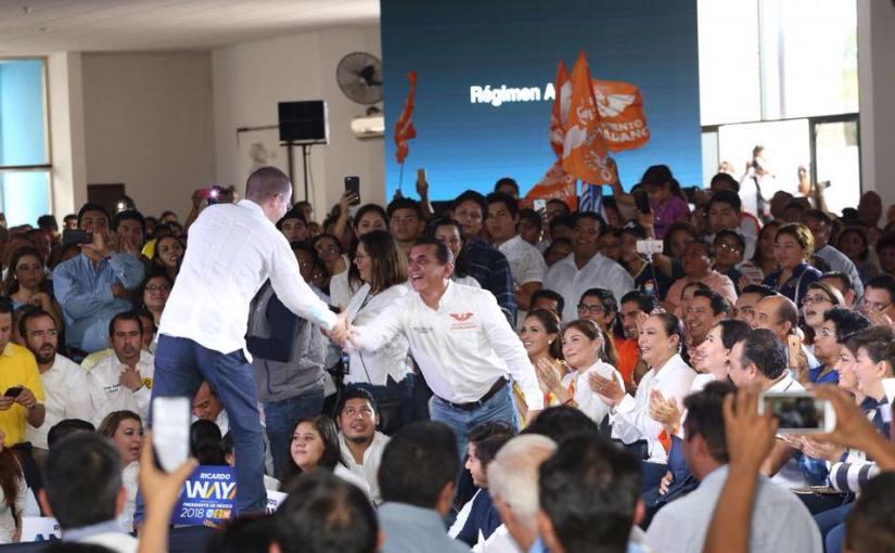 Aclara Miguel Ramón su registro por MC y acusa a Félix yBorge