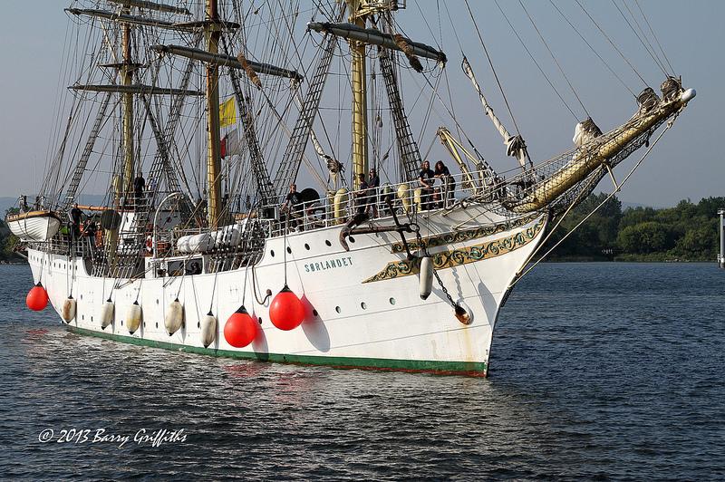 Sorlandet, buque-escuela noruego navega hacia PuertoMorelos