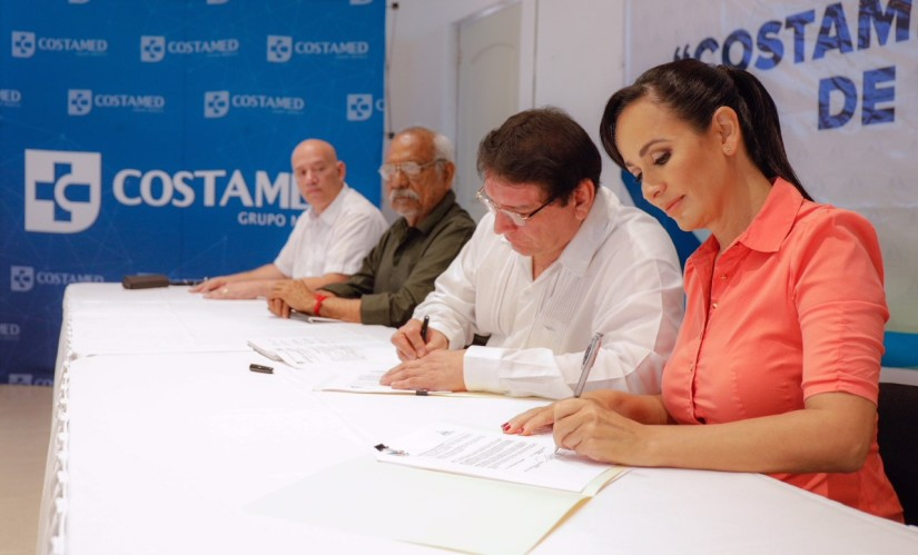 Celebran anuncio para construir hospital privado en PuertoMorelos