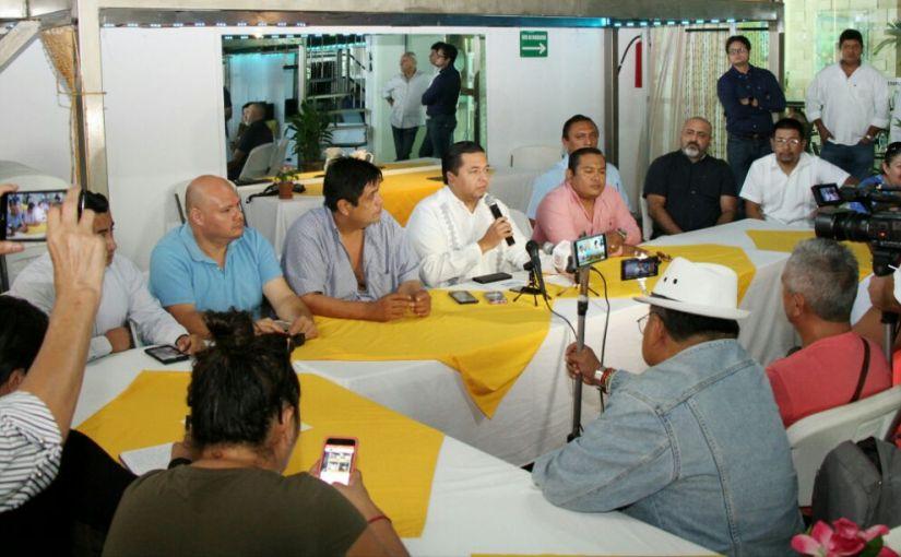 SE SUMAN AGRUPACIONES PRIISTAS AL PROYECTO DE EMILIANO RAMOS PARA PACIFICARCANCÚN