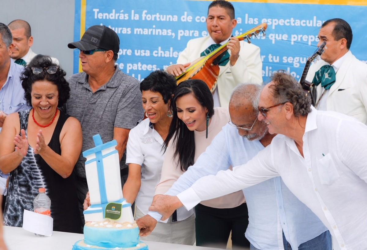 Celebran aniversario 20 del Parque Nacional Arrecife de Puerto Morelos
