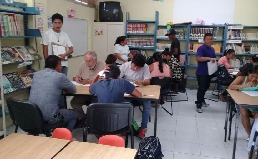 Avanza combate al rezago educativo en el onceavomunicipio