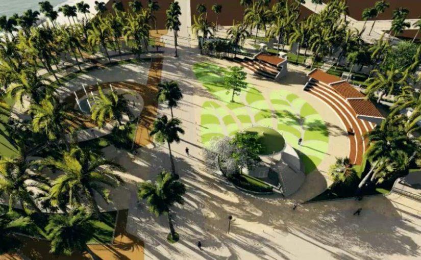 Destacan empresarios beneficios del cableado subterráneo en PuertoMorelos