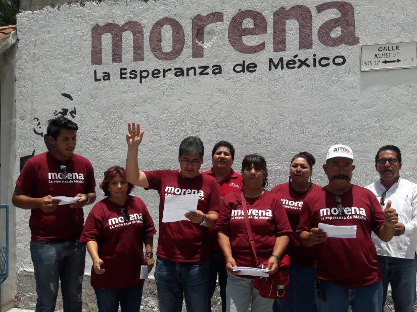 Fundacionales de MORENA Pto. Morelos respaldan a candidata delPES