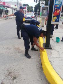 REALIZAN-POLICÍAS-DE-PUERTO-MORELOS-LABORES-DE-PROXIMIDAD-SOCIAL-1