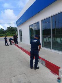 REALIZAN-POLICÍAS-DE-PUERTO-MORELOS-LABORES-DE-PROXIMIDAD-SOCIAL-2