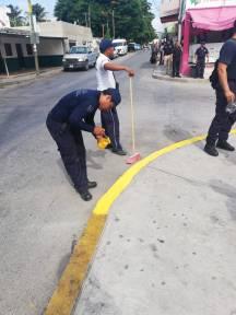 REALIZAN-POLICÍAS-DE-PUERTO-MORELOS-LABORES-DE-PROXIMIDAD-SOCIAL-4