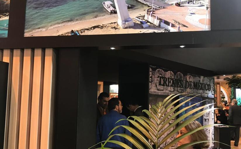 Inicia Puerto Morelos con éxito su participación en FITUR2019