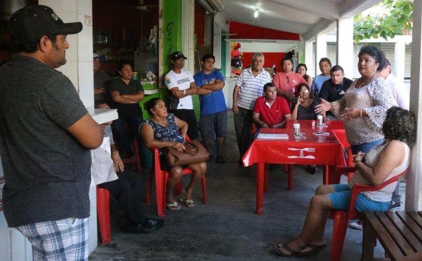 Trabaja ayuntamiento IM con locatarios para revitalizar mercadosmunicipales