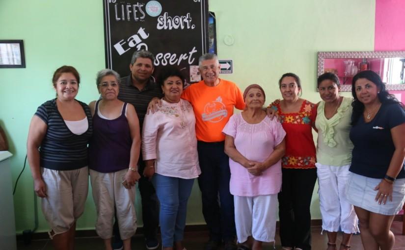 Recibe Isla Mujeres a Felipe BesnéNavarro