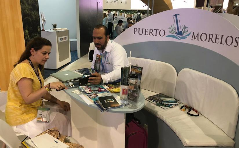 CONCRETA PUERTO MORELOS NUEVAS ALIANZAS EN EL TIANGUIS TURÍSTICO DEMÉXICO