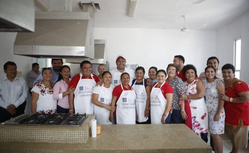 Mejora alimentación de isleños con desayunador municipal en RanchoViejo