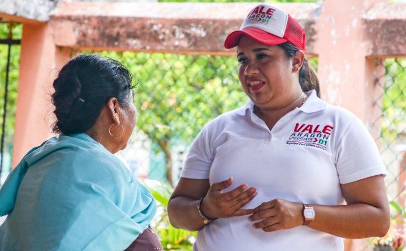 ACERCARÁ VALERIA ARAGÓN SERVICIOS BÁSICOS A COMUNIDADESALEJADAS
