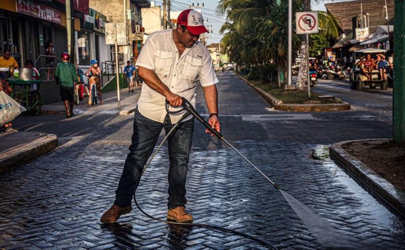 PREPARADA ISLA MUJERES PARA RECIBIR VISITANTES EN TEMPORADA VACACIONAL CON UNA IMAGENLIMPIA