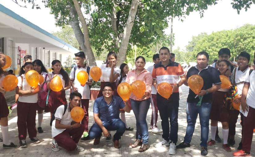 PROMUEVE EL GOBIERNO MUNICIPAL VALORES ENTRE LA JUVENTUDISLEÑA