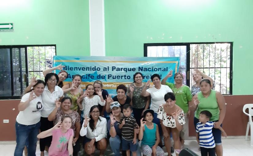 Primer limpieza comunitaria de Fondo Marino en PuertoMorelos
